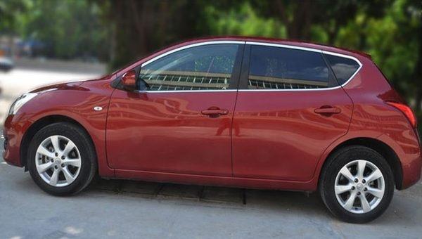 【車王小舖】日產 TIIDA上窗飾條 TIIDA車身飾條 TIIDA不鏽鋼飾條