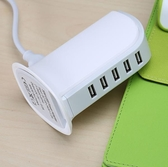 usb充電器多口插排 安卓蘋果手機通用快充頭旅行多孔快速智能插座