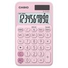 《享亮商城》SL-310UC-PK 粉紅色 馬卡龍10位計算機 CASIO
