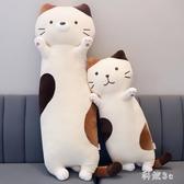 可愛小貓咪毛絨玩具玩偶女生公仔抱枕布娃娃懶人睡覺抱的女孩禮物 FX2359 【科炫3c】