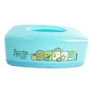 小禮堂 角落生物 方形塑膠面紙盒 抽取式紙巾盒 衛生紙盒 口罩盒 (藍 花圈) 5713077-26738