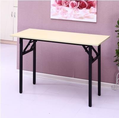簡易桌長方形培訓桌擺攤桌戶外學習書桌會議長條桌餐桌IBM桌【免運】