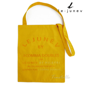 le-junev 品牌簡約風格帆布托特包-陽光黃 (L945-Yellow)