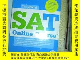 二手書博民逛書店The罕見Official SAT Online course