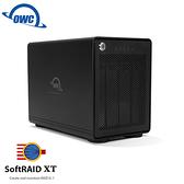 OWC ThunderBay 4 + SoftRAID 5 高速 Thunderbolt3 四槽 2.5/3.5 吋 硬碟 SSD 外接盒 ( OWCTB3SRKIT0GB )
