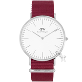 【台南 時代鐘錶 Daniel Wellington】瑞典極簡風格腕錶 Roselyn DW00100268 40mm
