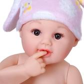 洋娃娃女孩仿真嬰兒玩具全軟膠矽膠安撫逼真陪睡眠會說話的假娃娃 蜜拉貝爾