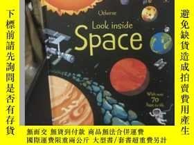 二手書博民逛書店Space罕見(精裝)Y9354 Usborne Publish