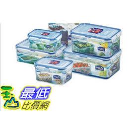 [COSCO代購 如果沒搶到鄭重道歉] Lock&Lock PP 保鮮盒 12件組 長方形 _W109168