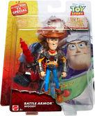 Poco+玩具部 全新 迪士尼 Disney 玩具總動員 5吋 Woody Battle Armor 裝甲胡迪