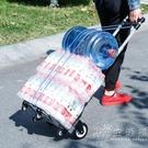 購物車買菜車手拉車摺疊便攜拉桿車家用行李車小推車拉貨車拖車 小時光生活館
