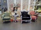[紅蘋果傢俱] AC2012 新古典系列 時尚 個性沙發 客廳 圈椅 休閑椅 靠背椅 布沙發