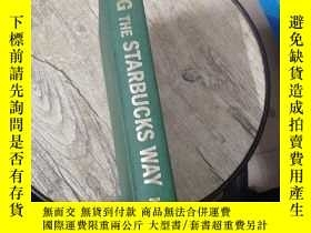 二手書博民逛書店LEADING罕見THE STARBUCKS WAYY5803