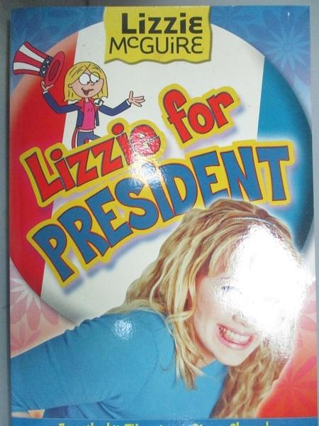 【書寶二手書T4/原文小說_NGC】Lizzie for President_tk