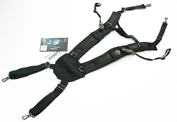 呈現攝影-JENOVA吉尼佛 TW-309 雙肩背帶 黑色 單肩改雙肩背帶 相機包 斜背包 減壓 公司貨