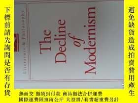 二手書博民逛書店The罕見decline of modernismY185671