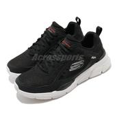 Skechers 慢跑鞋 Equalizer 4.0-Restrike 黑 白 男鞋 路跑 運動鞋【PUMP306】 232024BKW