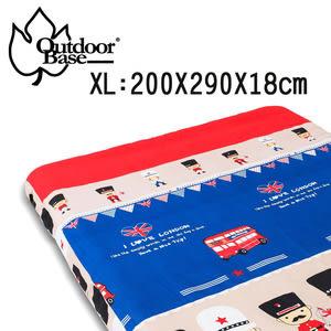 290x200x20cm原廠舒柔布保潔床包套XL (適用歡樂時光充氣床)