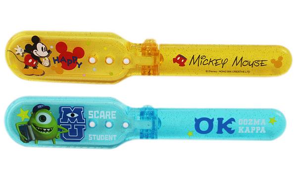 【卡漫城】 折梳 二選一 ㊣版 梳子 隨身攜帶 米奇 台灣製 Mickey Mouse 怪獸大學 大眼怪 Mike