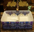 陶瓷長方形藝術台盆面盆台上盆洗臉盆洗手盆