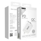 【iMos】保固3年 QC3.0+PD3.0雙USB 30W PD快充 旅充頭 充電器 快速充電