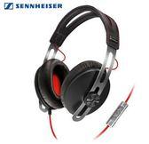 Sennheiser 聲海塞爾 MOMENTUM 黑紅 封閉耳罩式耳機 頭戴 線控  附硬質攜帶包 宙宣公司貨