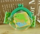 【震撼精品百貨】San-X動物家族_海豚~手腕零錢包-綠