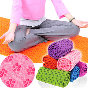 100%超細纖維瑜珈鋪巾(送收納袋)運動鋪巾運動墊瑜珈墊.止滑墊防滑墊瑜珈毯子.地墊野餐墊推薦