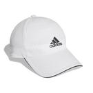 adidas 帽子 AEROREADY Baseball Cap 白 黑 男女款 老帽 棒球帽 運動休閒 【ACS】 FK0878