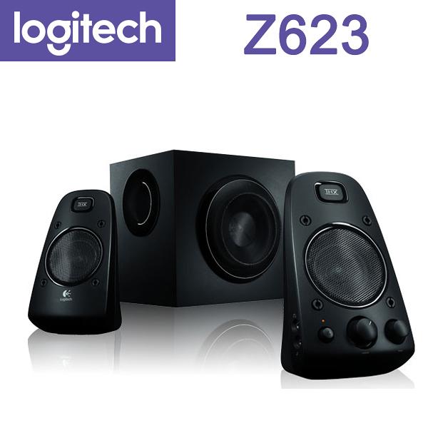 【免運費】Logitech 羅技 Z623 2.1 立體聲道音箱 / 內建耳機插孔 / 多種輸入方式