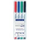 施德樓 MS301 WP4 極細白板筆4色組