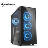 Sharkoon旋剛 TG5 炫光者 藍光 電腦機殼