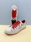 【震撼精品百貨】Hello Kitty 凱蒂貓~台灣製正版成人帆布鞋-塗鴉白(23~25號)#14106