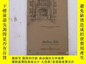 二手書博民逛書店民國:Hollow罕見Tile【USA】 房屋工程建造系列Y23766