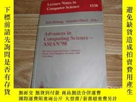 二手書博民逛書店Advances罕見in Computing Science-A