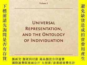 二手書博民逛書店Universal罕見Representation, And The Ontology Of Individuat