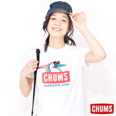 CHUMS 日本 女 Bamboo 短袖 T Shirt 白 CH111015W001