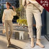 LULUS-Y內刷毛斜紋長褲S-XL-3色 【04190302】