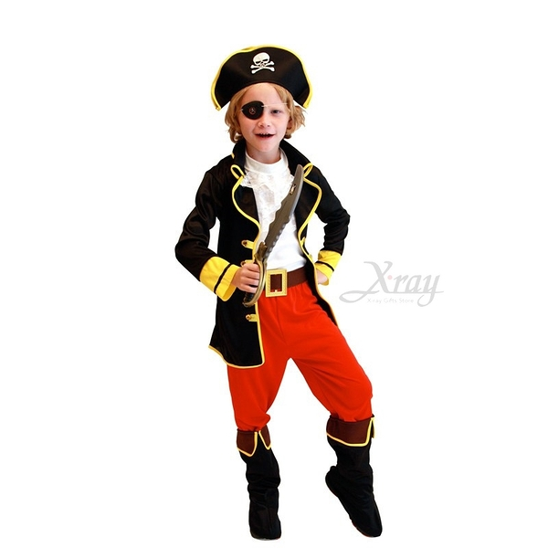節慶王【W655768】傑克海盜船長,化妝舞會/角色扮演/尾牙表演/萬聖節服裝/聖誕節/cosplay
