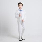 兒童禮服 花童兒童西裝小主持人男童演出服裝套裝禮服  萬客居