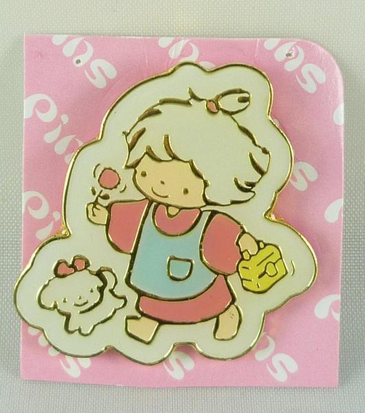 【震撼精品百貨】Tiny Poem Sanrio 娃娃~別針徽章