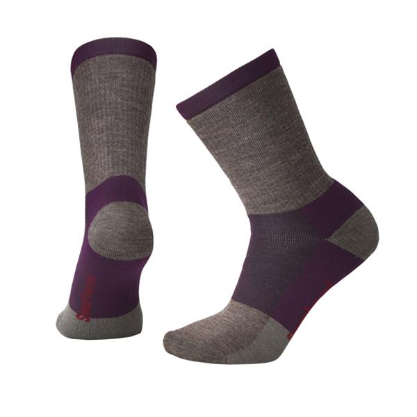 [SmartWool] (女) 中級減震型徒步中長襪 粉霧紫 (SW001007A22)
