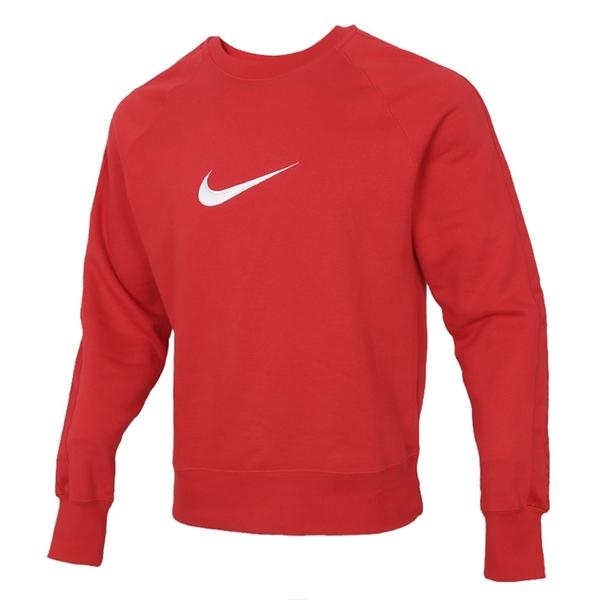 NIKE服飾系列-SWOOSH SBB CREW 男款紅色長袖上衣-NO.DA0087657