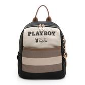 PLAYBOY- 後背包 新時代系列 -黑色
