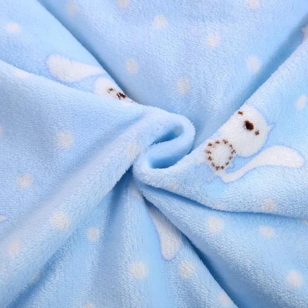 嬰兒加厚保暖抱毯新生兒包被春秋冬款寶寶珊瑚絨嬰幼兒冬季抱被