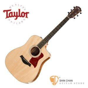 【210CE-K-DLX】Taylor 210CE K DLX 可插電 木吉他 單板 (KAO 相思木) 民謠吉他 墨廠 附硬盒