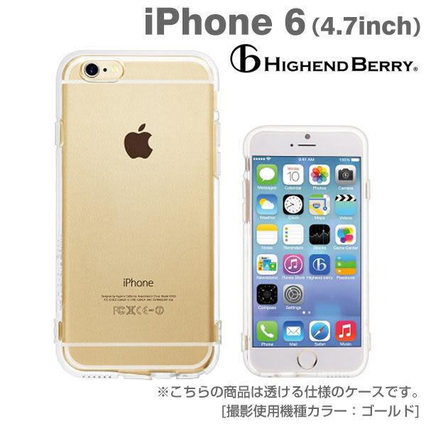 ❤Hamee 日本 Highend Berry 設計圖樣系列 透明TPU軟式 4.7吋 iPhone6 手機殼 (無印) [558-984015]