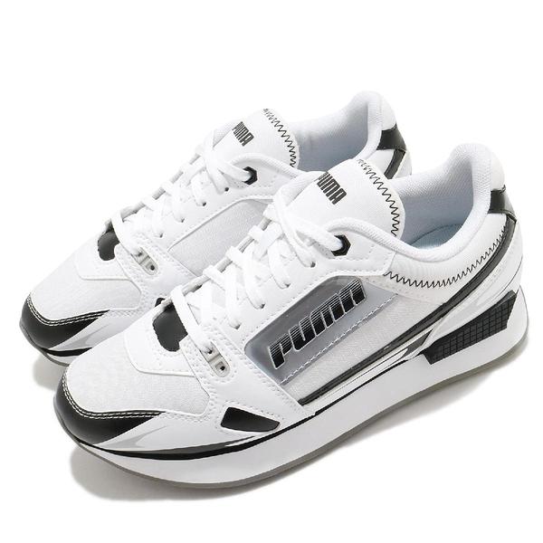 Puma 休閒鞋 Mile Rider Sunny Getaway Wns 白 黑 女鞋 蔡依林 代言款 運動鞋 【ACS】 37344305