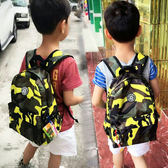 書包 幼兒園旅游書包男女兒童1-3年級小學生秋游迷彩背包旅行雙肩韓潮 米蘭街頭