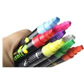 (交換禮物)熒光板專用筆 發光黑板彩筆水性記號筆可擦式熒光筆POP筆玻璃彩筆